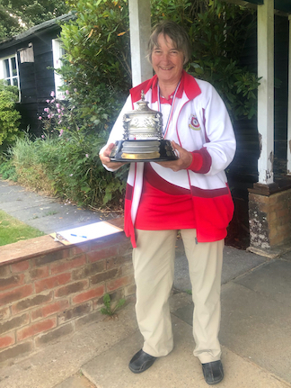 Kathy's Lady Longbow trophy